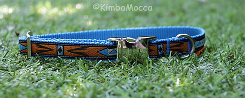 Small Africa light blue
