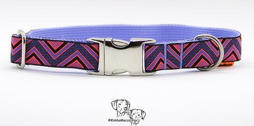 Dakar purple on soft lilac 25mm