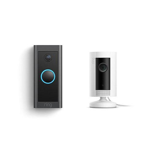Ring Video Doorbell Wired + Indoor Cam