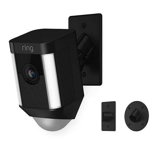 Ring Spotlight Cam Mount, Hardwired HD Security Camera