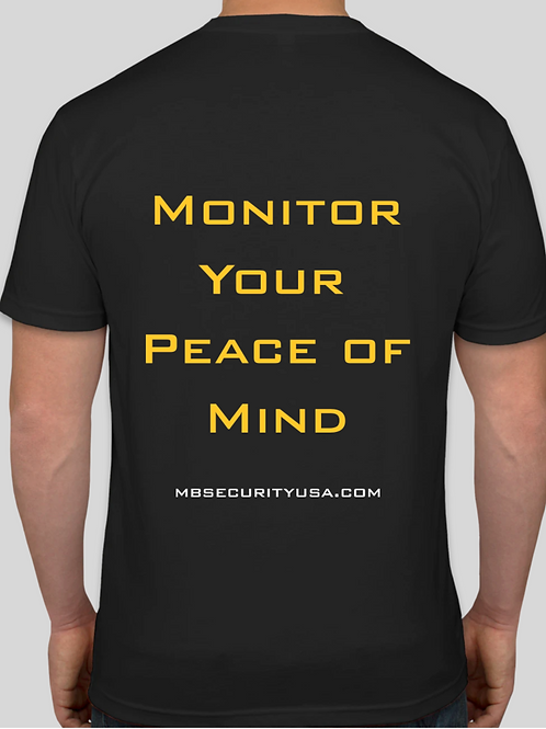 MBS Ultra Soft Logo & Slogan T-Shirt