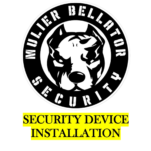 Security Device Installation