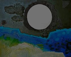 Neige sous la lune,1992 (65x81)