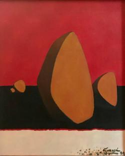 De Roc et de Sable,1990 ( 65x54 )