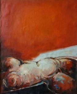 Paisaje Femenino Rojo 1976,