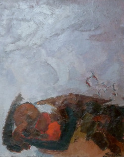 Mouvement de ciel et de rochers,1960