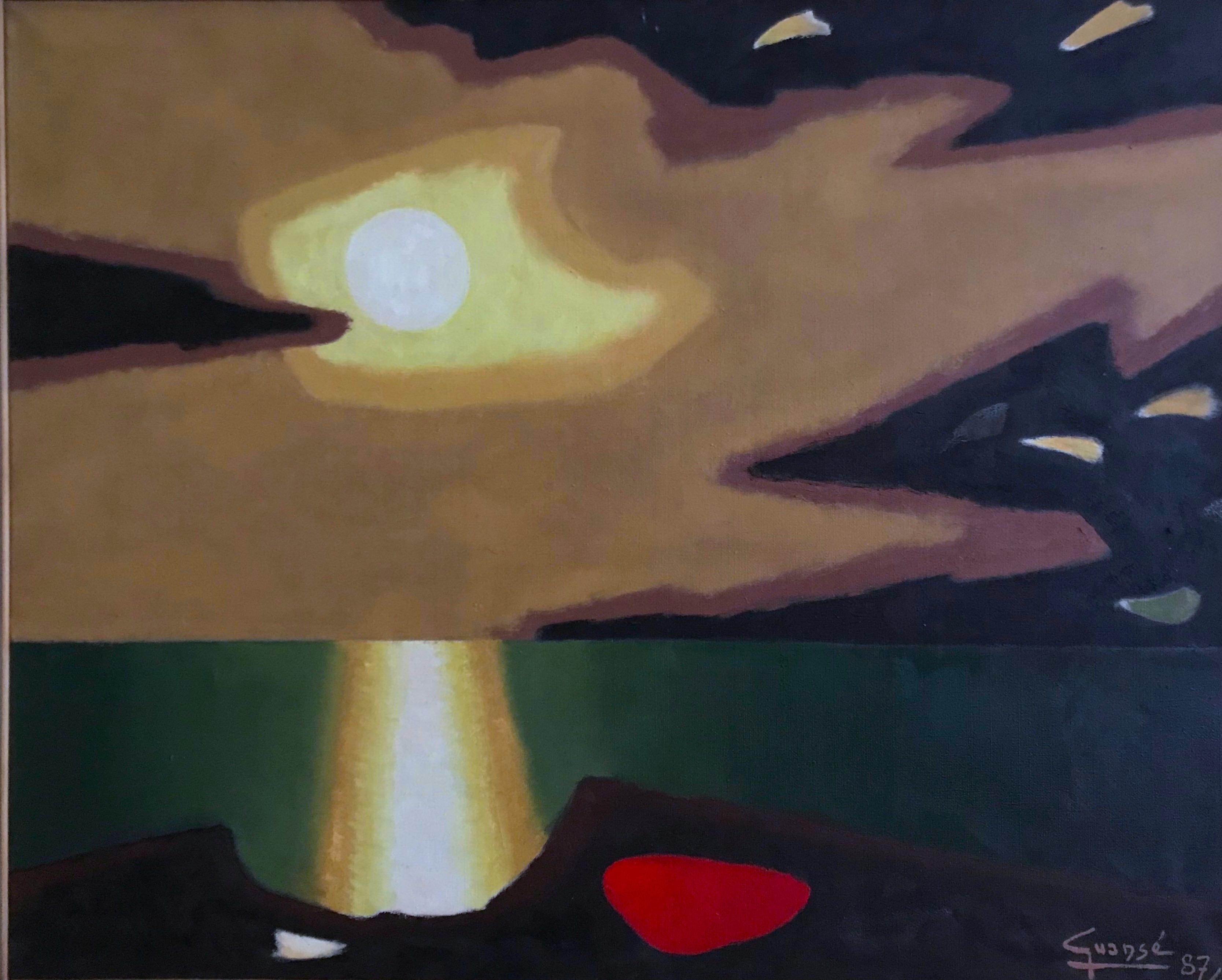 Crépuscule breton,1987
