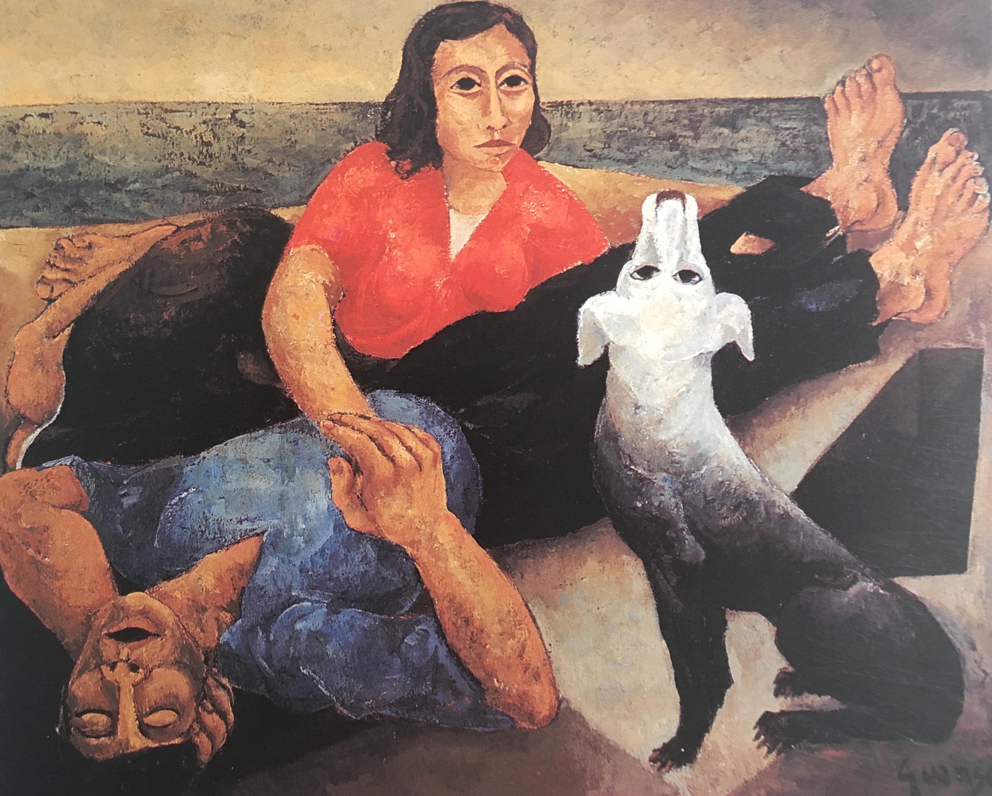 Couple de Pêcheurs,1953