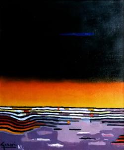 A la Fin du Jour, 1986 ( 65x54 )