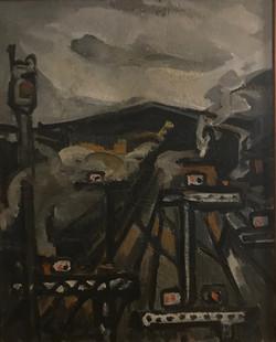 La Gare,1956 ( 81x65 )