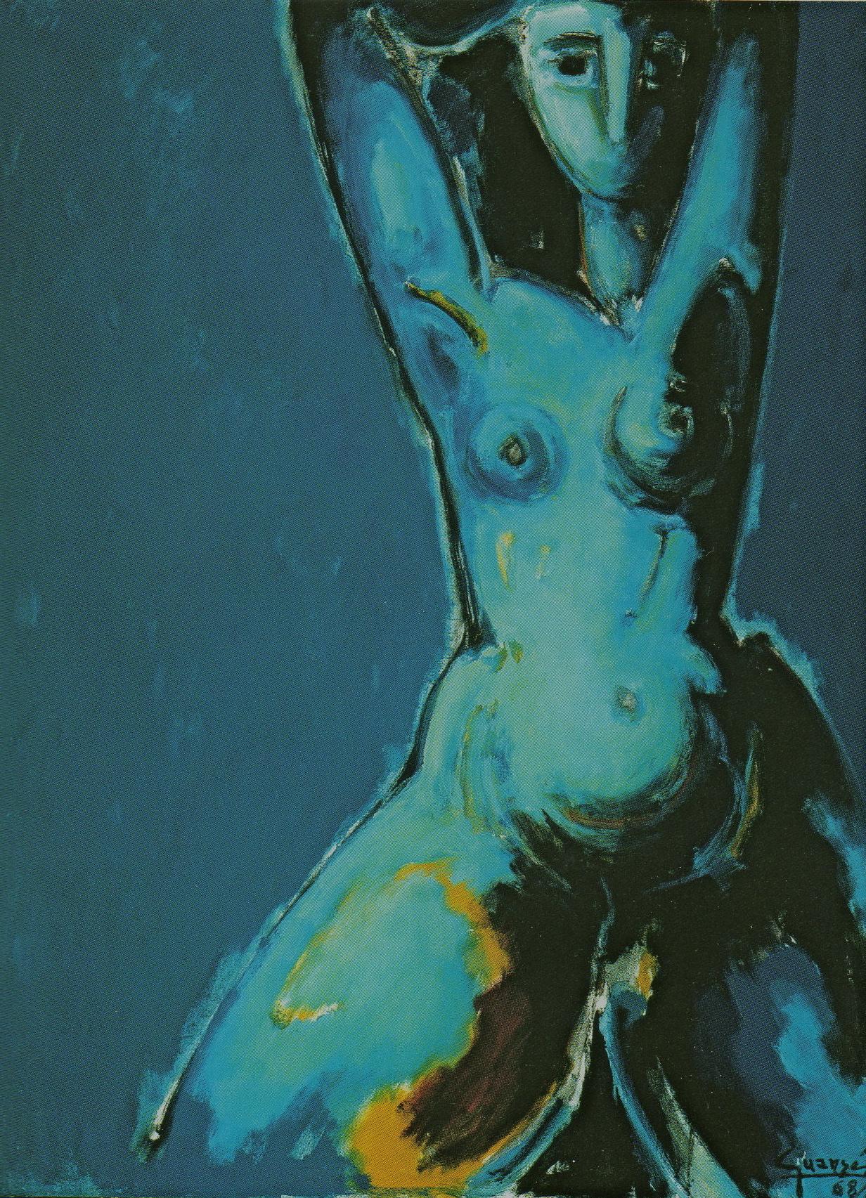 Nu bleu,1968