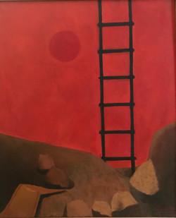 L'Echelle,1988 ( 65x54 )