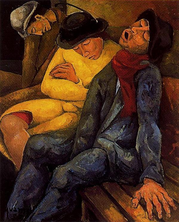 Les Voyageurs,1955