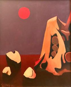 Terre et Roc,1990 ( 65x54 )