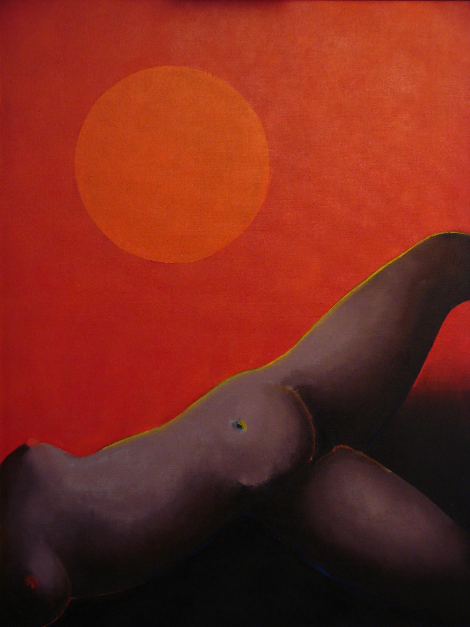 Sous un grand ciel rouge,1990