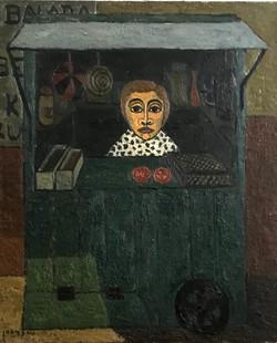 Marchande de 4 Saisons, 1949 ( 60x73 )