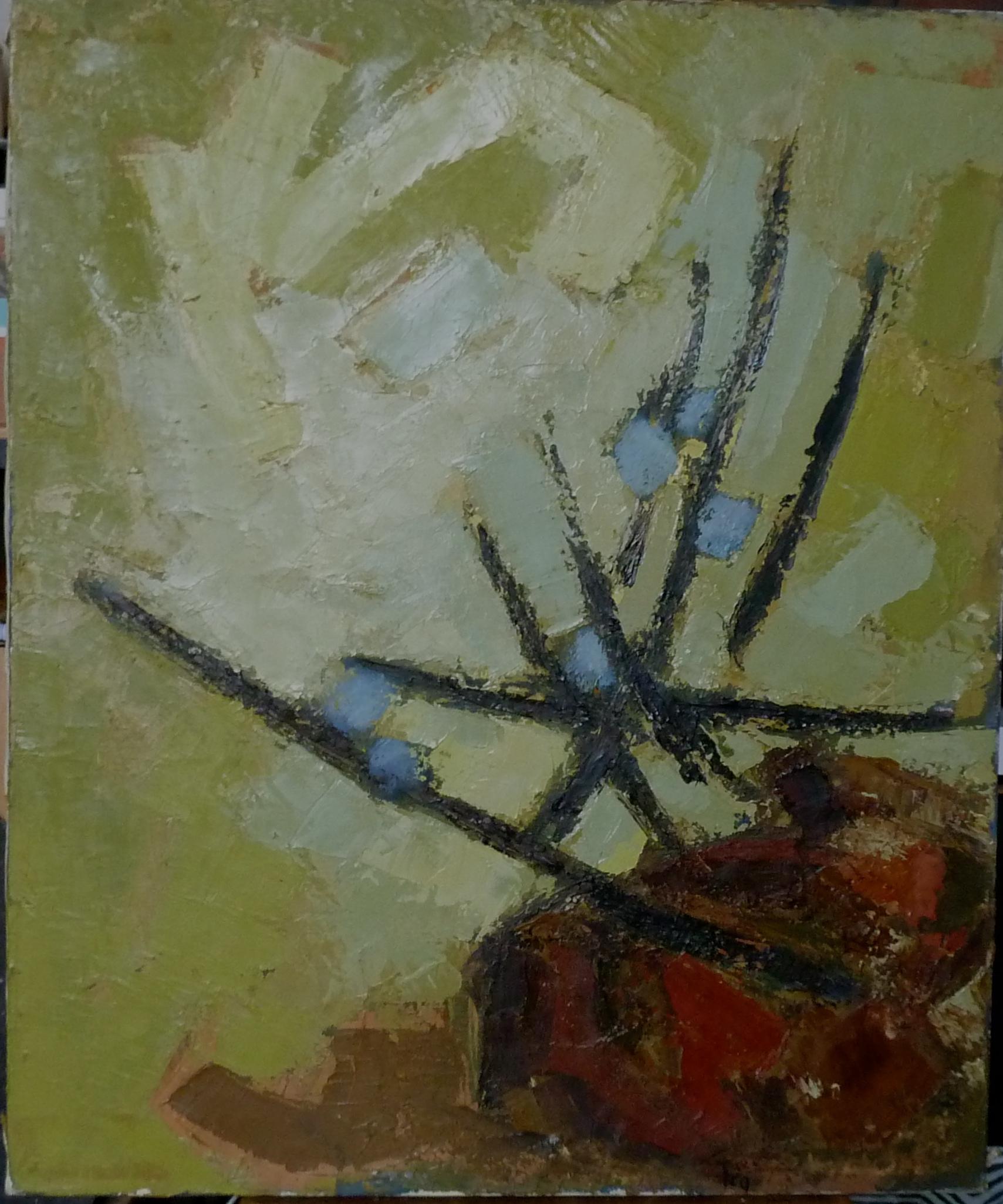 Fleurs et Rocher,1959