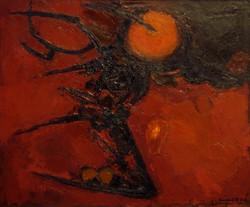 Paysage rouge d'Espagne,1961