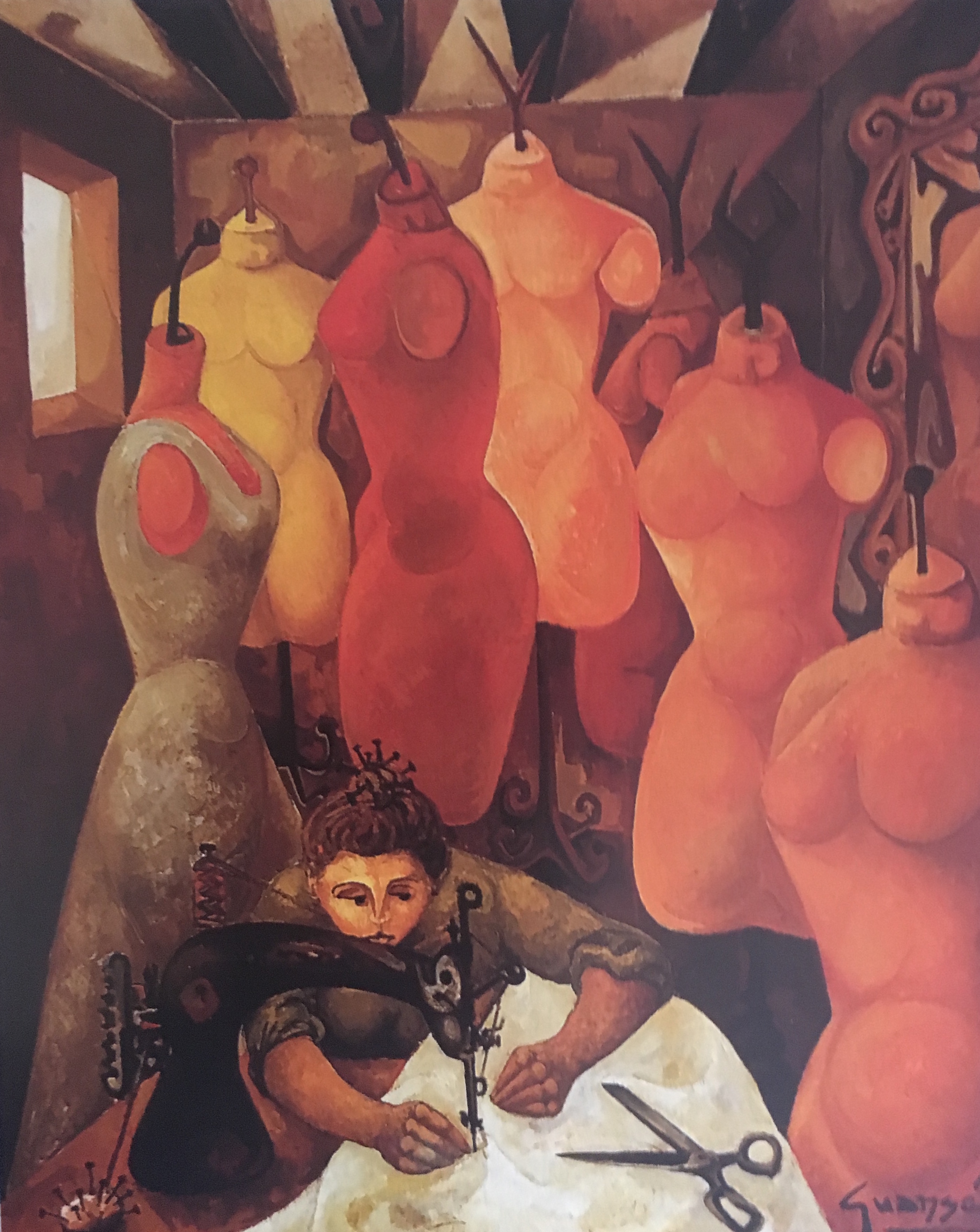 La Couturière, 1955
