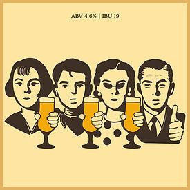 레트로를 사랑하는 대학생부터 부모님까지, 세대를 아울러 즐길 수 있는 부드러운 맥주  달달한 몰트의 향과 은은한 허브향의  밸런스를 잘 이루며 가볍게 즐길 수 있는  골든에일