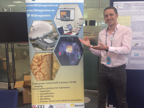3Dmagination @ the UK Bio-XFEL single particle imaging workshop