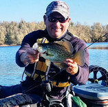 Mike with a nice Black Crappie