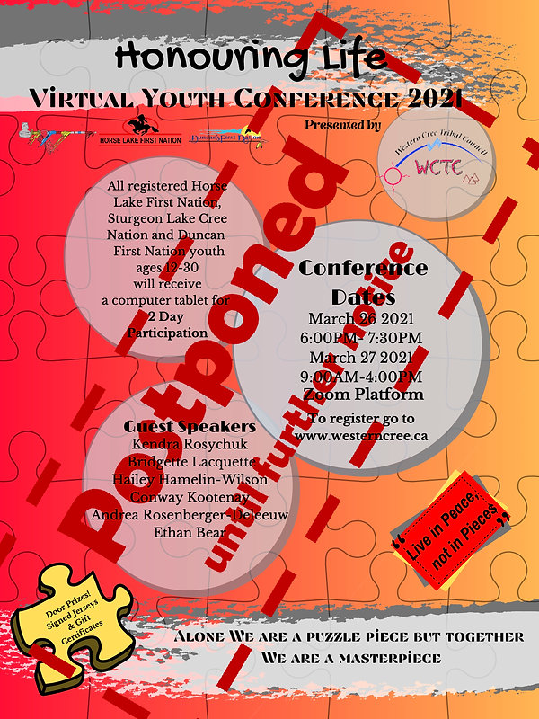 Postponned WCTC Virtual Youth Conference