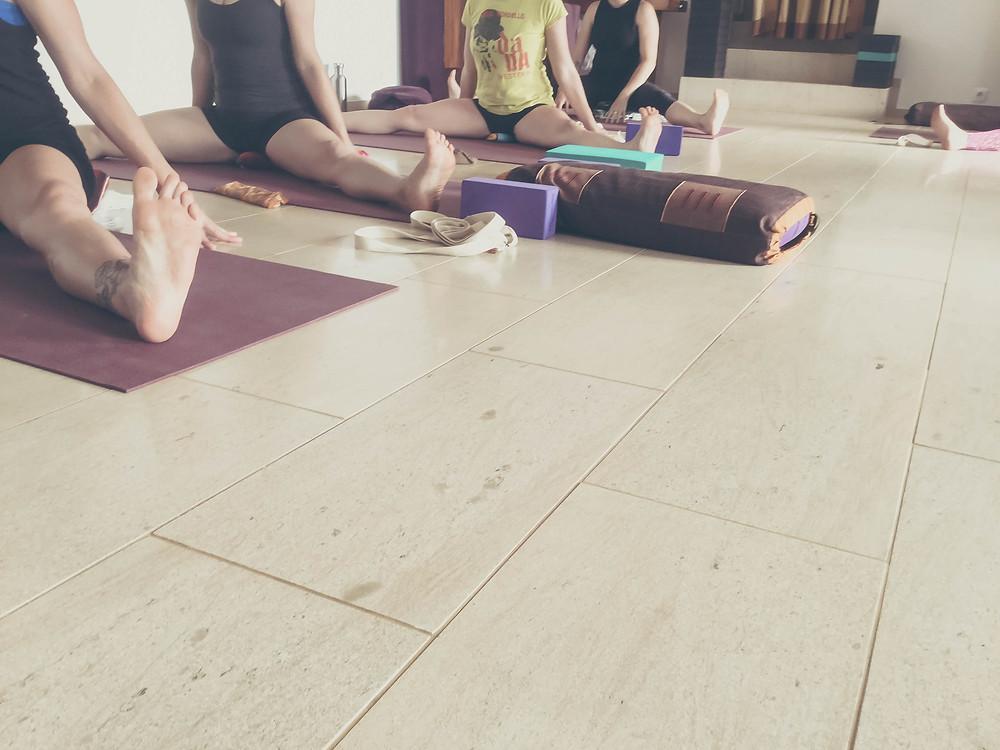 Iyengar Yoga practice