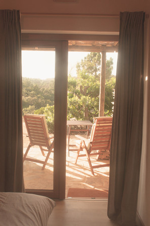 retreat room with a view
