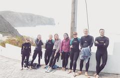 Surfers pose :-)