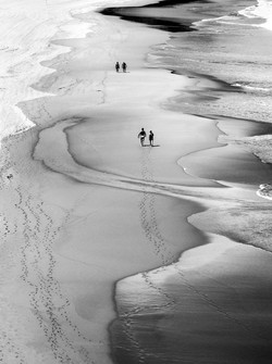 beach walks during yoga retreat