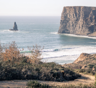 surf beaches on the west coast Portugal