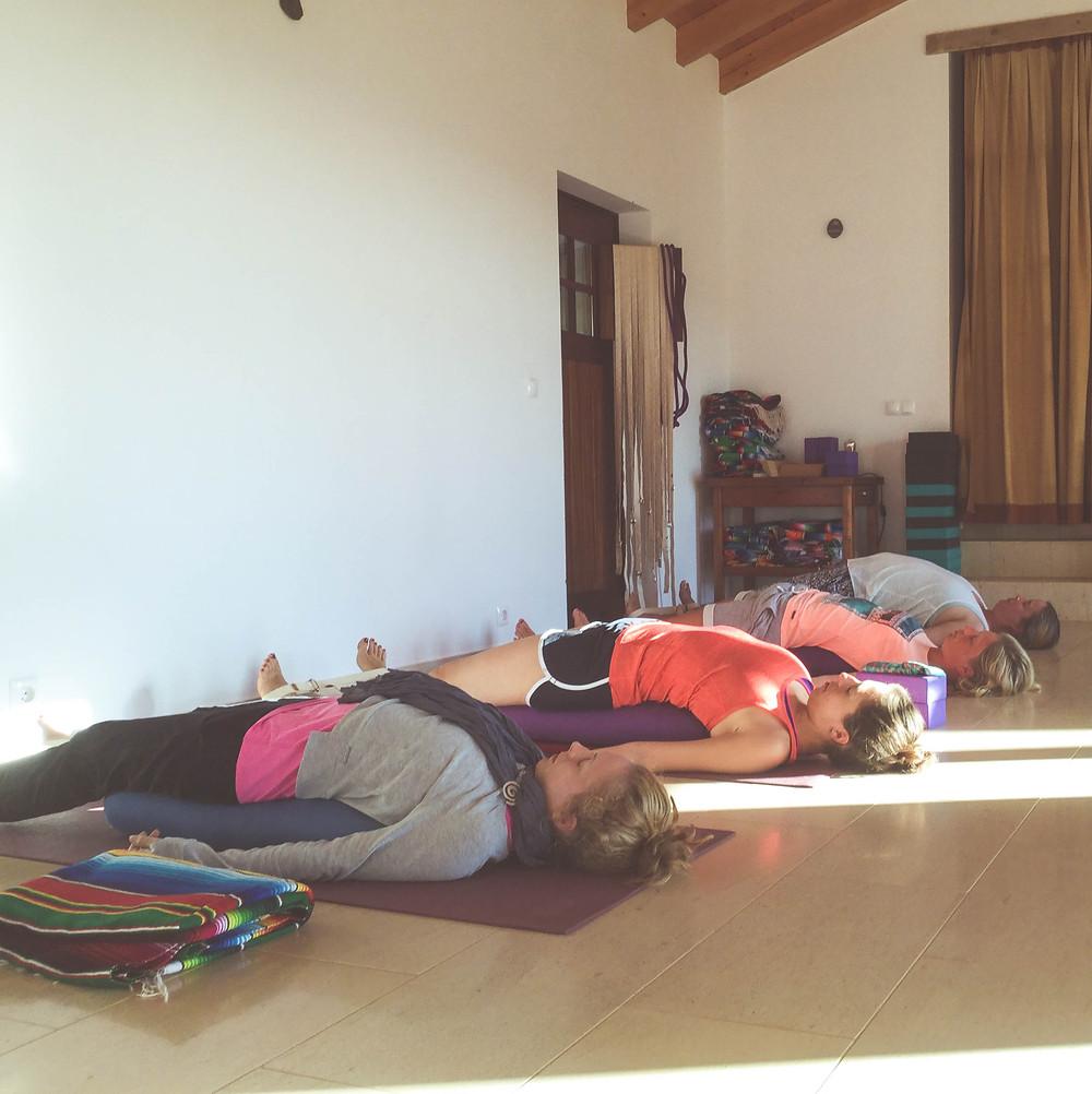 restorative Yoga for Menstruation