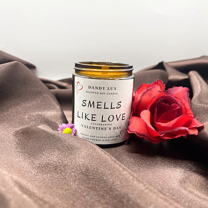 SMELLS LIKE LOVE CANDLE