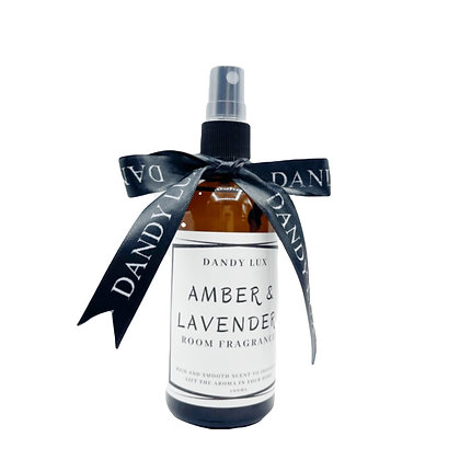 AMBER & LAVENDER ROOM FRAGRANCE