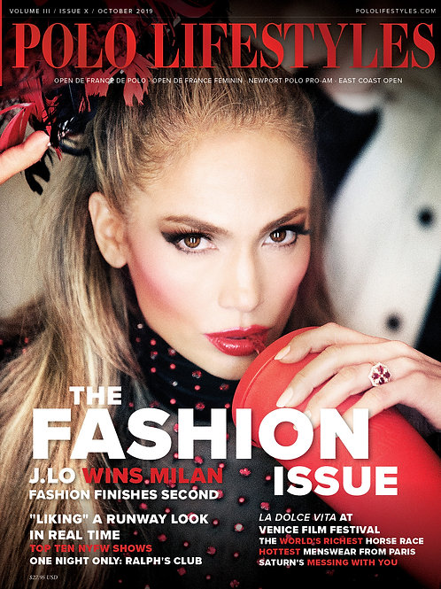 Polo Lifestyles: October 2019 Polo - The Fashion Issue
