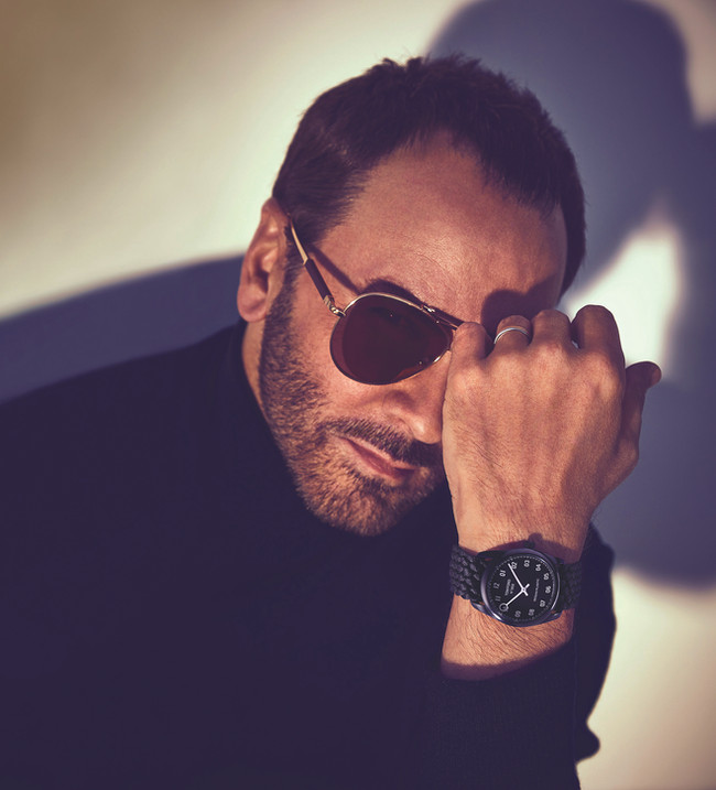 Tom Ford Tackles Plastic Trash with Money and Style