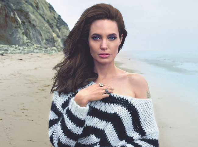 Tribute to Mothers: Angelina Jolie
