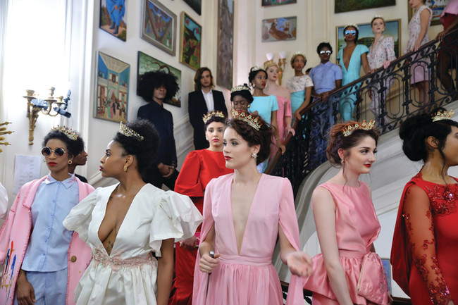Dazzling High Fashion Show at the Haitian Embassy in D.C.