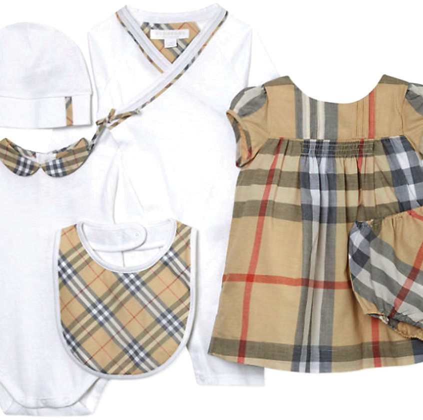 Burberry Maxime Cotton Set for Girls