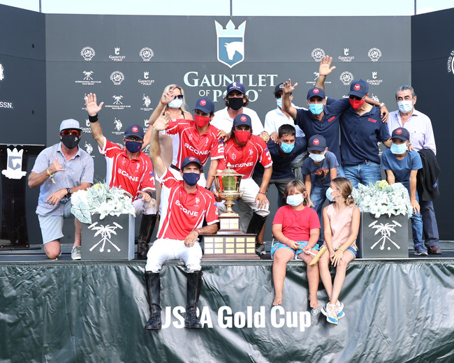 Scone Polo Captures The Gold Cup $100,000 Prize