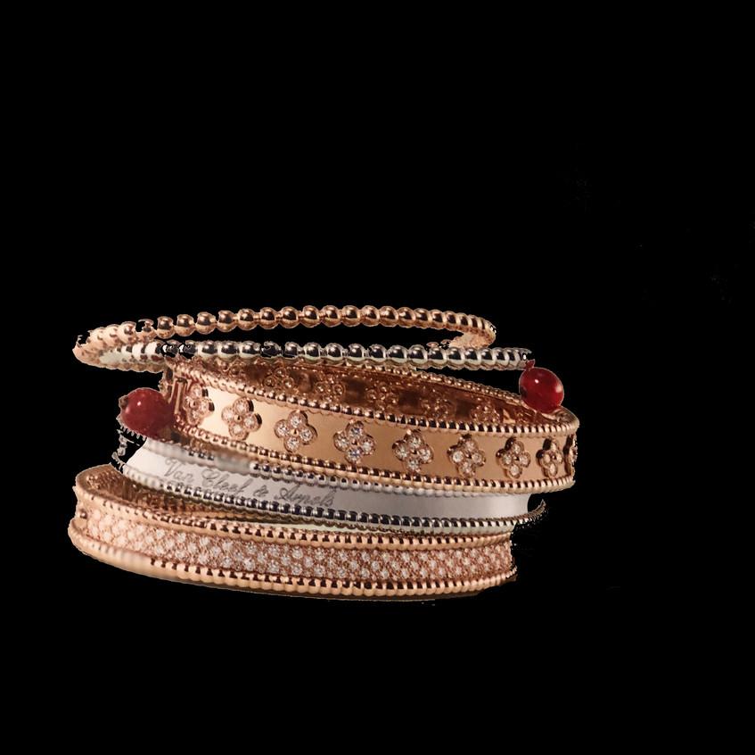 Van Cleef & Arpels bracelets