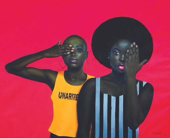 Vernissage: Mesmerizing Muses of Oluwole Omofemi