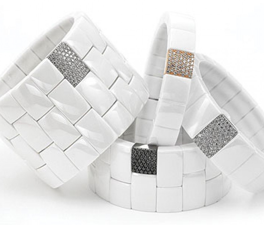 Roberto Demeglio ceramic bracelets