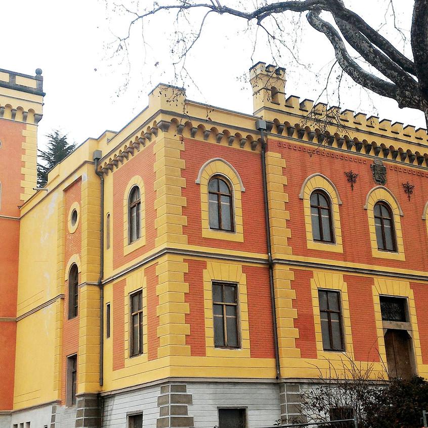 Friuli Castello Alimonda Sagrado Gorizia Tracciati Locali