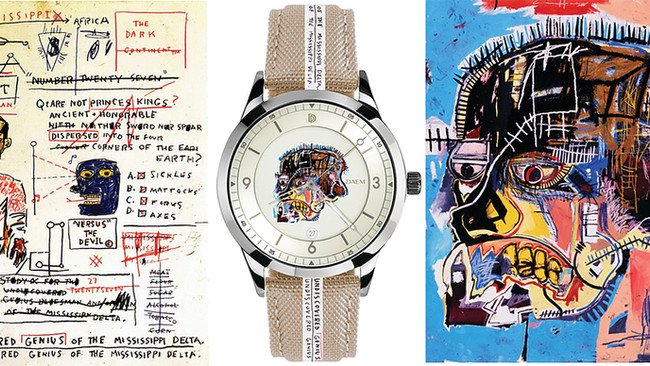 Basquiat x DAEM: Art & Time
