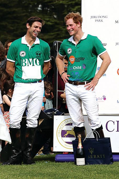 The Princes' Polo Coach: Malcolm Borwick