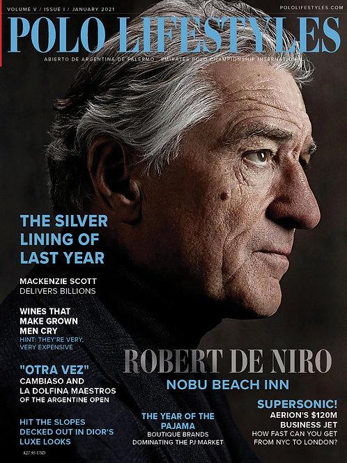 Polo Lifestyles: January 2021 Robert De Niro & Nobu Beach Inn