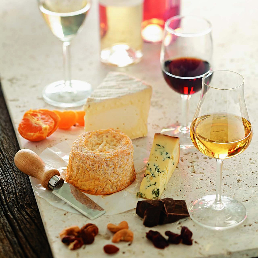 pairing-wine-and-cheese-dessert-and-fort