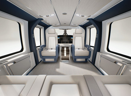 Airbus' Latest VIP Helicopter Is Lighter, Faster & Quieter Than Any in Its Class